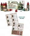 ACS-018. Pea Dot Camo Paint Set
