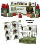 ACS-015. Waffen SS Camo Paint Set (Spring Colors)