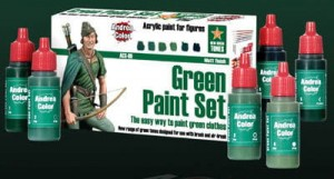 ACS-009. Andrea Green Paint Set