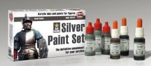 ACS-007. Andrea Silver Paint Set