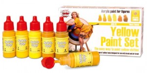 ACS-011. Andrea Yellow Paint Set