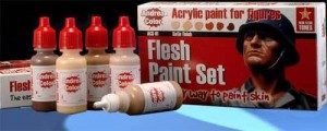 ACS-001. Andrea Flesh Paint Set