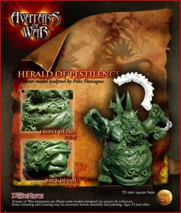 AoW43. Herald of Pestilence