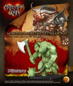 AoW 27.  Minotaur Lord with two weapons