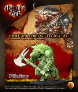 AoW 26.  Minotaur Lord with great weapon