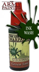 Warpaints: Quickshade Green Tone Ink
