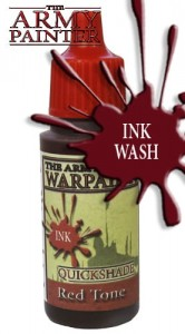 Warpaints: Quickshade Red Tone Ink