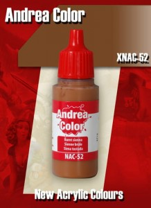 Andrea Paint. XNAC-52. Burnt Sienna