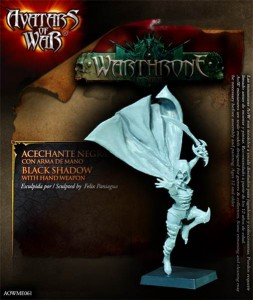 AoW61. Dark Elf Black Shadow with hand weapon