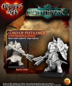 AoW52. Lord of Pestilence with weapon and shield